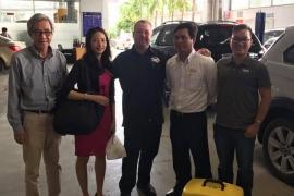 BG Products Inc thăm và hỗ trợ kỹ thuật trực tiếp tại Chevrolet An Thái