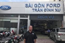 BG Products Inc thăm và hỗ trợ kỹ thuật trực tiếp tại Saigon Ford