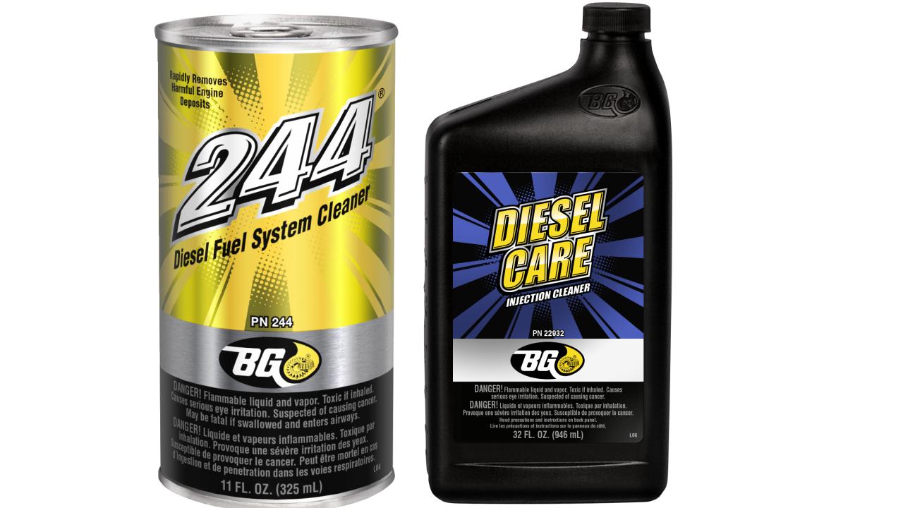 Làm sạch hệ thống nhiên liệu động cơ dầu DIESEL